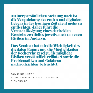 Empfehlung Siemens AG, J. Schultze