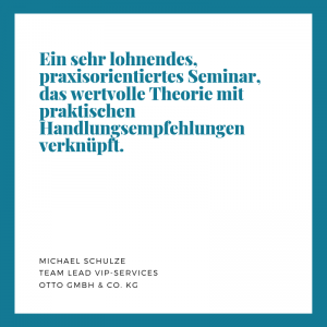 Empfehlung Otto GmbH & Co. KG, M. Schulze